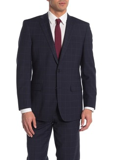 Brooks Brothers Blue Plaid Two Button Notch Lapel Wool Blend Regent Fit Suit Separates Jacket
