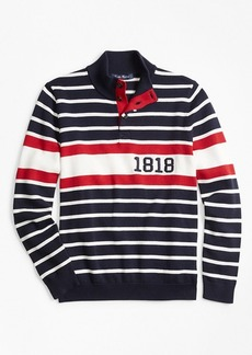 Brooks Brothers Boys Cotton 1818 Mockneck Sweater
