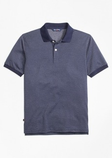 Brooks Brothers Boys Cotton Bird's-Eye Polo Shirt