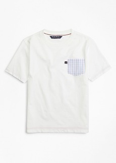 Brooks Brothers Boys Cotton Blend T-Shirt