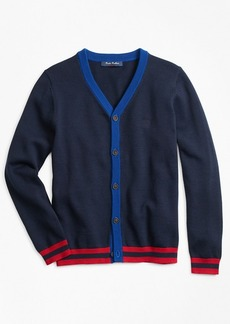 Brooks Brothers Boys Cotton Cardigan