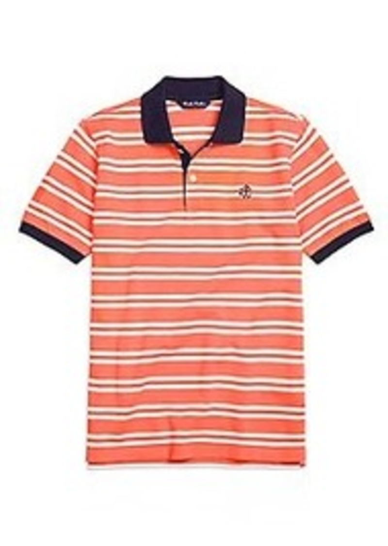 Brooks brothers boys cotton double stripe polo shirt now for Brooks brothers boys shirts