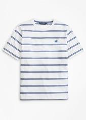 Brooks Brothers Boys Cotton Short-Sleeve Stripe T-Shirt