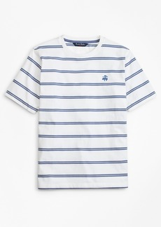 Brooks Brothers Boys Cotton Short-Sleeve Stripe T-Shirt