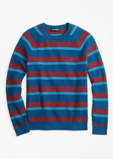 Brooks Brothers Boys Cotton Stripe Sweater