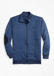Brooks Brothers Boys Full-Zip Fleece Knit
