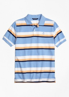 Brooks Brothers Boys Large Stripe Polo Shirt