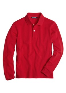 Brooks Brothers Boys Long-Sleeve Polo Shirt