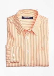 Brooks Brothers Boys Non-Iron Club Stripe Sport Shirt