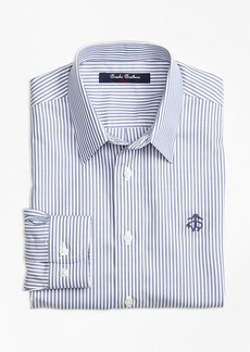 Brooks Brothers Boys Non-Iron Club Stripe Sport Shirt