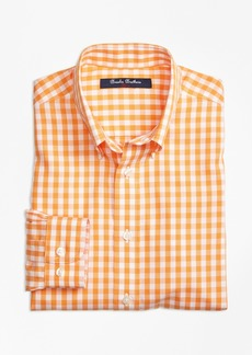 Brooks Brothers Boys Non-Iron Gingham Sport Shirt