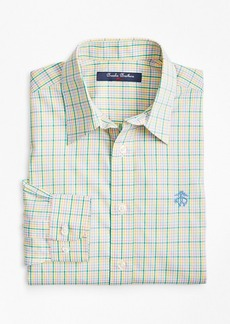 Brooks Brothers Boys Non-Iron Madras Sport Shirt