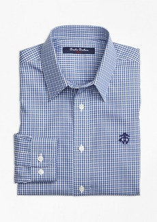 Brooks Brothers Boys Non-Iron Mini Check Sport Shirt