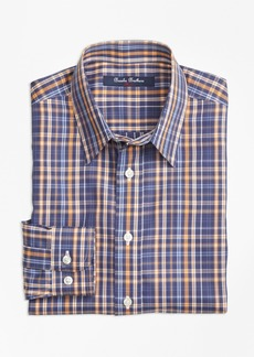 Brooks Brothers Boys Non-Iron Multi Check Sport Shirt