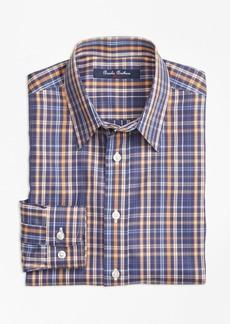 Brooks Brothers Boys Non-Iron Multi Check Sport Shirt