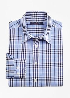Brooks Brothers Boys Non-Iron Plaid Sport Shirt