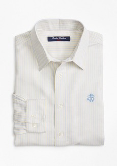 Brooks Brothers Boys Non-Iron Supima® Cotton Oxford Alternating Stripe Sport Shirt