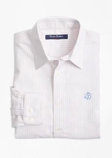 Brooks Brothers Boys Non-Iron Supima® Cotton Oxford Alternating Stripe Sport Shirt