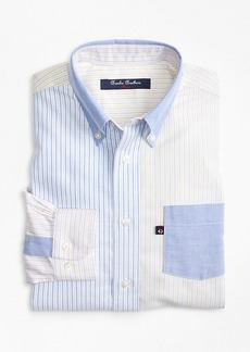 Brooks Brothers Boys Non-Iron Supima® Cotton Oxford Fun Shirt