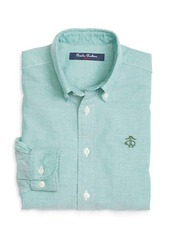 Brooks Brothers Boys Oxford Sport Shirt