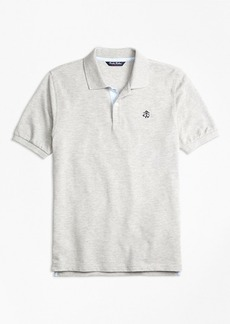 Brooks Brothers Boys Oxford Trim Pique Polo Shirt
