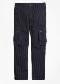 Brooks Brothers Boys Pinstripe Cargo Pants