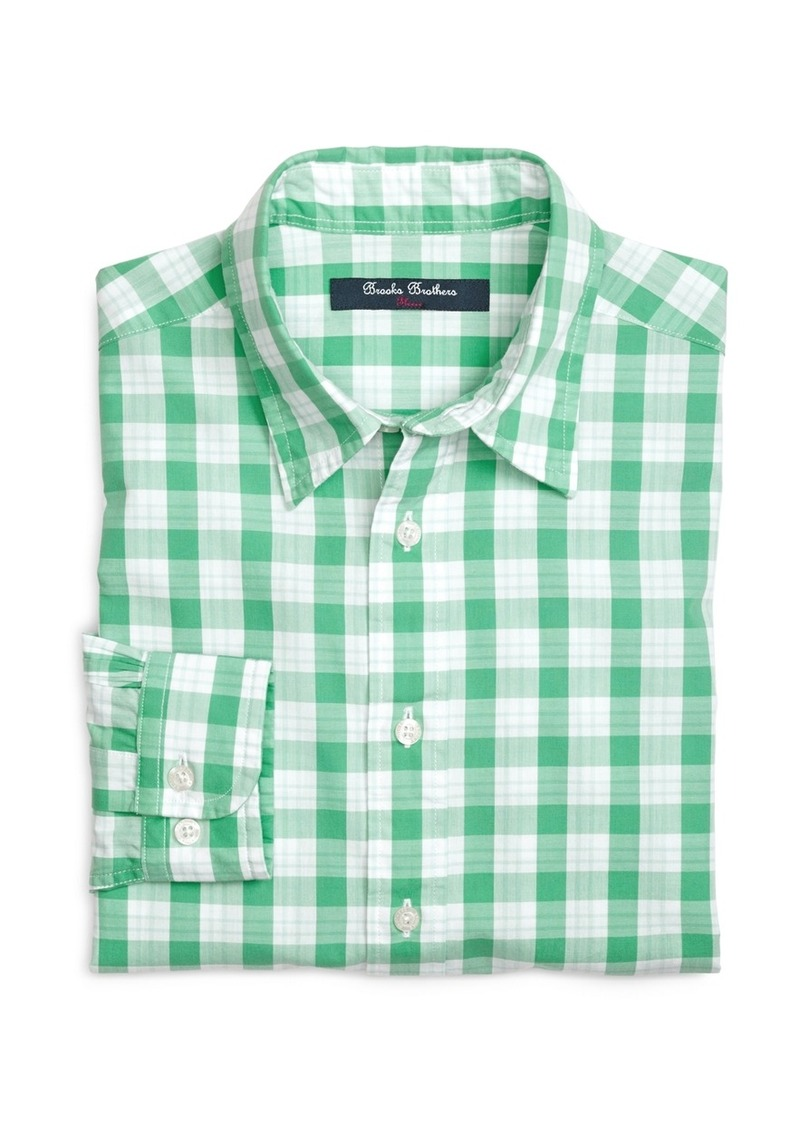 sale brooks brothers boys plaid sport shirt shop it to me