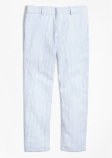 Brooks Brothers Boys Seersucker Junior Suit Trousers