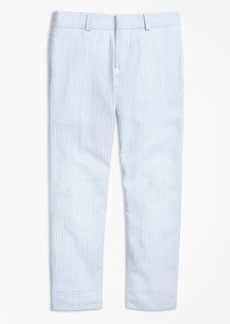 Brooks Brothers Boys Seersucker Junior Suit Trousers