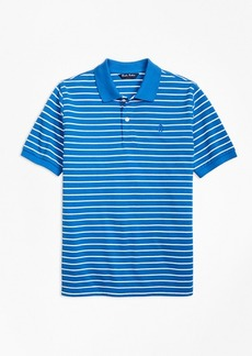 Brooks Brothers Boys Short-Sleeve Thin Stripe Pique Polo Shirt