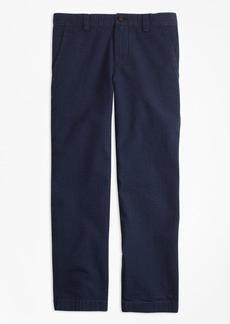 Brooks Brothers Boys Washed Seersucker Pants