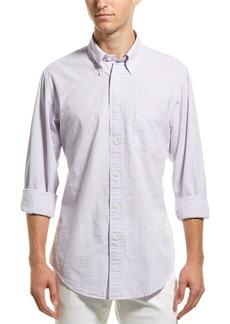 Brooks Brothers 1818 Regent Fit Seersucker Woven Shirt