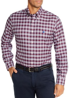 Brooks Brothers Basketweave Tartan Classic Fit Button-Down Shirt