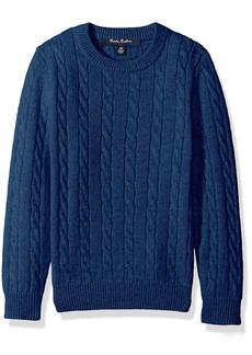 Brooks Brothers Big Boys' Cashmere Crewneck Sweater