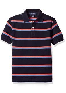 Brooks Brothers Big Boys' Double Stripe Polo  L