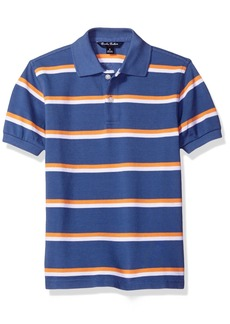 Brooks Brothers Big Boys' Double Stripe Polo  XL
