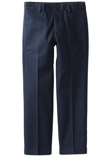 Brooks Brothers Big Boys' Uniform Plain Front Advantage Chino