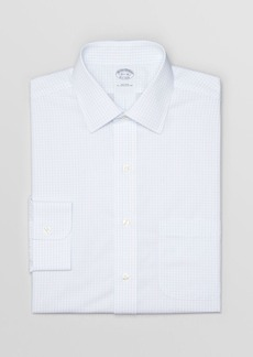 Brooks Brothers Box Check Non-Iron Dress Shirt - Regent Fit
