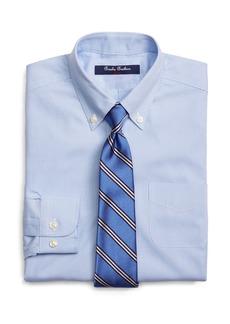 Brooks Brothers Boys' Mini Houndstooth Dress Shirt - Little Kid, Big Kid