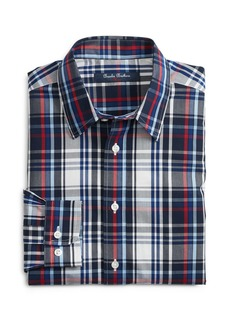 Brooks Brothers Boys' Non-Iron Dalton Plaid Sport Shirt - Little Kid, Big Kid