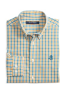 Brooks Brothers Boys' Non-Iron Multi Gingham Sport Shirt - Little Kid, Big Kid