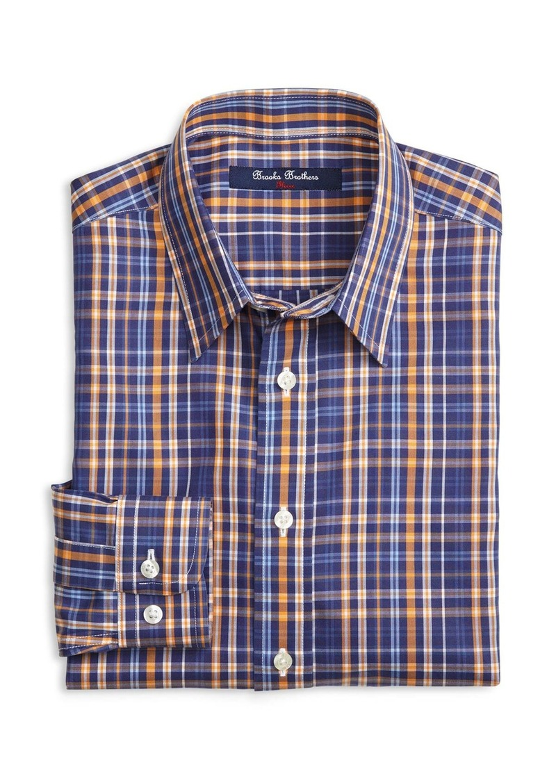 Brooks Brothers Brooks Brothers Boys 39 Non Iron Plaid Shirt