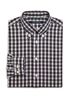 Brooks Brothers Boys' Plaid Shirt, Big Kid - 100% Exclusive