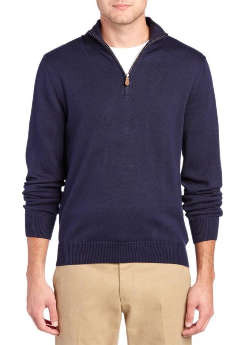 Brooks Brothers Brooks Brothers 1/2-Zip Sweater