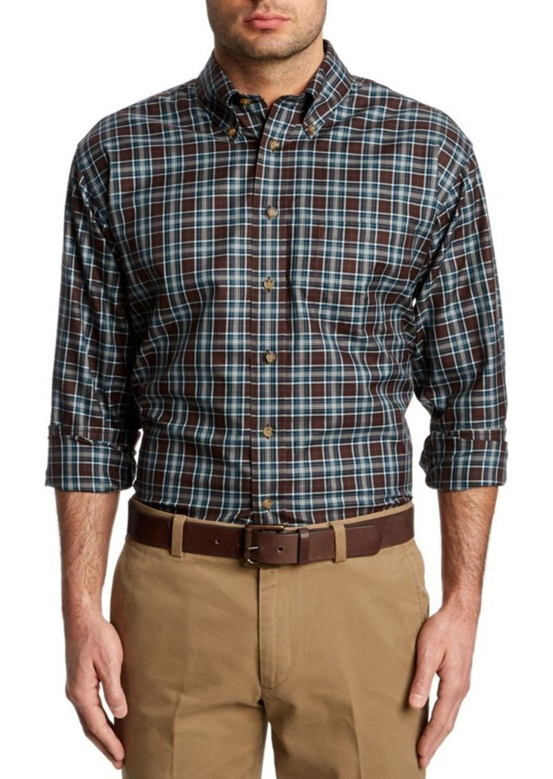 Brooks Brothers Brooks Brothers Brown Gingham Wo...