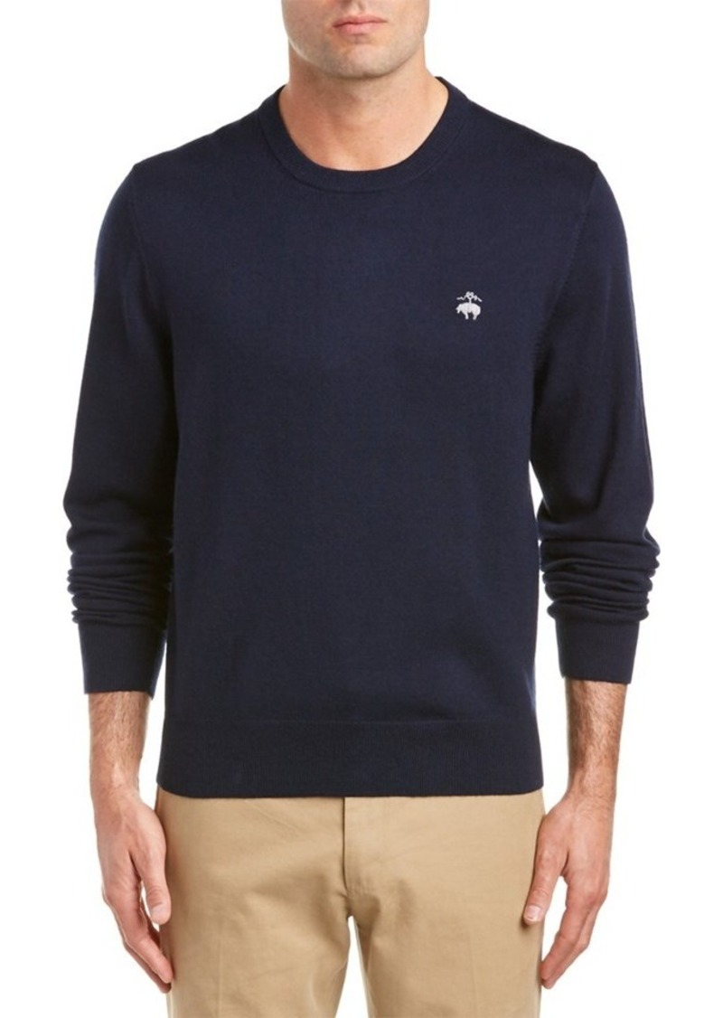 Brooks Brothers Brooks Brothers Wool-Blend Crewn...