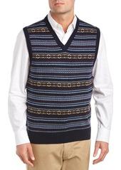 Brooks Brothers Brooks Brothers Wool V-Neck Swea...