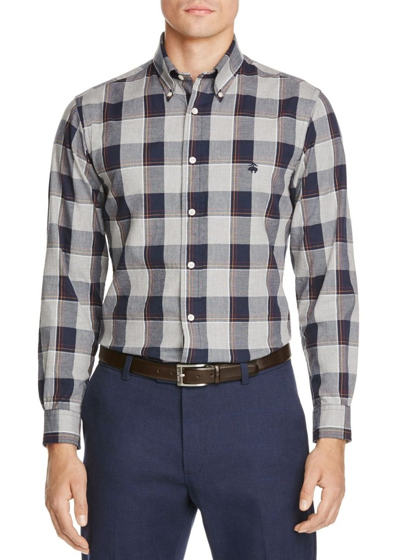 Brooks Brothers Brushed Oxford Classic Fit Button-Down Shirt
