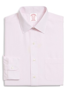 Brooks Brothers Classic Fit Plaid Dress Shirt (3 for $207)