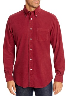 Brooks Brothers Dyed Corduroy Classic Fit Button-Down Shirt